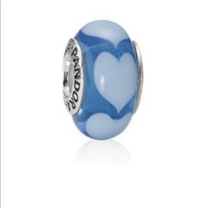 Pandora blue charm